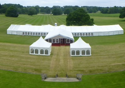 Large Marquee on Lawn